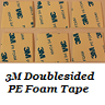 3M Doublesided PE Foam Tape pads (Set of 6)